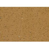 China Yellow Quartz Stone Tiles Decorative  Kitchen Worktops Colors Customizable on sale