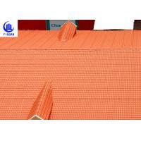 Wholesale Coloured Glaze Asa Upvc Synthetic Resin Roof Tile 2.5mm thickness Bamboo Design from china suppliers