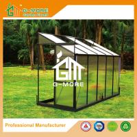 Buy cheap Green Color Wall Lean-to 4mm PC Aluminum Greenhouse - 355 x145x221cm from wholesalers