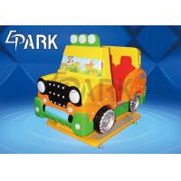 China Kids Coin Pusher Game Machine Electric  Jeep Car  With CE Certification for sale