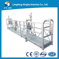 China zlp rope cradle / work platform lifts / suspended mobile scaffolding / glass cleaning on sale
