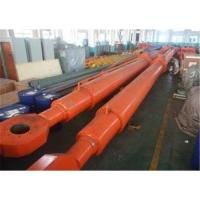 Buy cheap Large Deep Hole Radial Gate Telescopic Hydraulic Cylinder for water conservancy from wholesalers