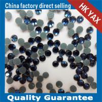 Wholesale lead free hot fix crystal montana color from china suppliers