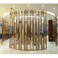 Wholesale metal artwork gold stainless steel decorative panel made in china from china suppliers