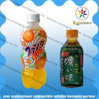 PET / PVC Automatic Heat Shrink Sleeve Labels With Customized For Drink Bottle for sale