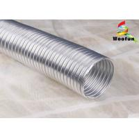 Quality Ventilation Semi Rigid Flexible Ducting Aluminum For Clothes Dryers for sale