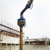 China Concrete piles foundation equipment sheet piling hammer on sale