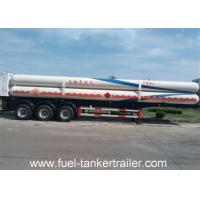 Wholesale Gas Long Tube CNG Tank Trailer 10T BPW axle With Walking structure from china suppliers