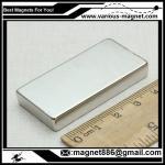 Wholesale F50x34x20 N35   Ni-Cu-Ni  NdFeB Ni coating for Spain from china suppliers