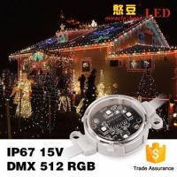 Wholesale SMD5050 IP67 Outdoor 0.9Watt DC15V Waterproof DMX 40mm Poi LED from china suppliers