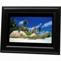 Wholesale 9.2-inch Digital Photo Frame, Supports CF, SD, MMC, XD and MS Cards from china suppliers