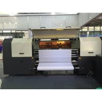 Best 4 - 8 Kyocera Printheads Digital Textile Printer 260 m2 / h Reactive Inks wholesale