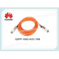 Wholesale QSFP-100G-AOC-10M Huawei Active Optical Cable QSFP28 100G 850nm 10m AOC from china suppliers