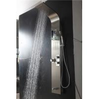 China High Pressure Mixer Switch Wall Mount Shower Panel With Temperature Control on sale