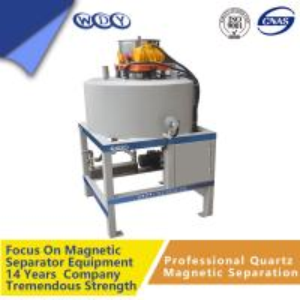 Electro Dry Magnetic Separator Metal Scrap 50000gs 440v Magnetic Drum Separator