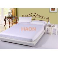 China Colorful Striped Cotton Hotel Bed Sheets , Hotel Fitted Sheets For Spa on sale