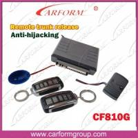Wholesale Auto Accessories Electronics Anti-hijacking Auto Alarms Systems 810G Remote Trunk Release from china suppliers