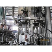 Best 3 In 1 Small Capacity Automatic Beer Filling Machine , 300Bph - 500Bph Beer Bottling Machine wholesale