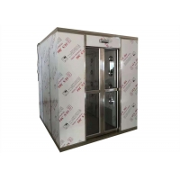 Wholesale Modular Clean Room Air Shower Double Doors Interlock Tempered Glasses Door from china suppliers