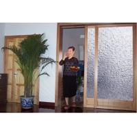 China Small Frameless Automatic Sliding Glass Door Automatic Opening Doors Soft Closing Function on sale