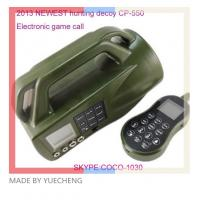 Wholesale hunting game calls CP-550 Electronic bird caller ;bird hunting mp3 duck call from china suppliers