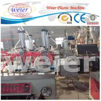 Best 300-600mm WPC Extrusion Line , 3D decorative hollow panel Wood Plastic Composite Extruder wholesale