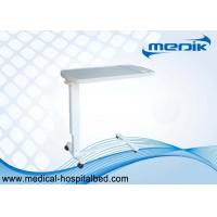 Wholesale Movable Plastic Medical Overbed Table With Height Ajustable For Hospital Patient Use from china suppliers