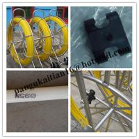 Wholesale HDPE duct rod,Reels for continuous duct rods,Pipe traker traceable midi duct rodder from china suppliers