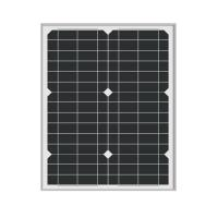 Wholesale 30W Solar Powered 12 Volt Battery Charger High Efficiency For Traffic Signals Lights from china suppliers