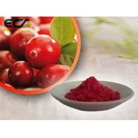 Wholesale Beauty Effect Organic Food Ingredients Red Fine Oxycoccos Cranberry Extract Powder from china suppliers