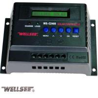 China WELLSEE WS-C2460 60A 12/ 24V PWM Charge Controller for sale