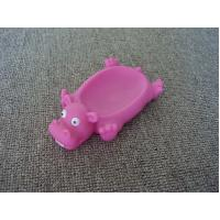 Wholesale Vinyl Hippo Rubber Bath Toys Plastic Soap Holder / Dish For Bathroom Decoration from china suppliers