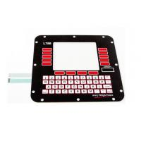Stainless Steel Dome 3M Adhesive Membrane Switch Keyboard For Home Appliance