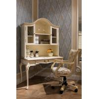 China Study Desk With Shelves Computer Desk Wooden Table Make Up Dressing Organizer Antique Writ for sale