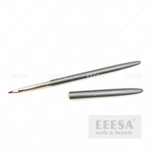 Wholesale Grey Daisy Flor Drawing Wholesale Custom Logo Zhostovo Mini Nail Art Brush from china suppliers