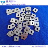 Wholesale Center hole square cemented carbide inserts uncoated carbide inserts for scissors sharpener from china suppliers