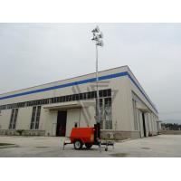 Wholesale 9m Height Mobile lighting tower with 8KW kubota diesel generator with 4*1000w metal halide lights ! from china suppliers