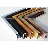 Wholesale Brushed Effect Hanging Metal Photo Frame With Gold / Copper / Black from china suppliers