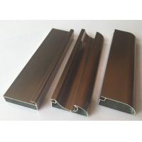 Wholesale Anti Rust Aluminum Cabinet Door Extrusion/ Frame Extrusions Coffee Color from china suppliers