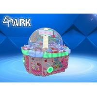 China Children claw crane candy game coin operated machine Four People Candy Machine for sale