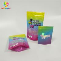 Wholesale Custom Printed Resealable Ziplock Doypack Laminated Material Smell Proof Runtz Bag for CBD Candy Packaging from china suppliers