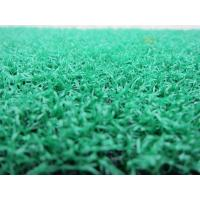 Wholesale 6300Dtex Field Green Tennis Pitches Golf Artificial Grass Yarn 15mm from china suppliers