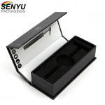 China Custom Hair Bundle Cardboard Wine Box With Eva Insert Accessories for sale