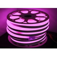 Wholesale Pink LED Neon Tube Light For Bathroom / Club Decorative UV Resistant from china suppliers