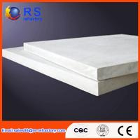 China Refractory Ceramic fiber board for industrial kiln / furnace , White Color on sale