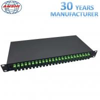 Wholesale 19 Inch Rack Mount Type SC / APC ODF Optical Distribution Frame with Pigtail Fiber Optic Patch Panel from china suppliers