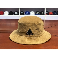 Wholesale Unisex Men Adjustable Corduroy Fisherman Bucket Hat Soft Or Hard Pre - Curved from china suppliers