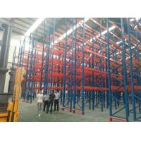 Best Cold Roll Steel Pallet Storage Racks For Industrial Storage Goods 3 Years Guarantee wholesale