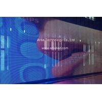 Wholesale P31.25mmx31.25mm Outdoor Building LED strip display LED mesh displays/Curtain LED Displays from china suppliers