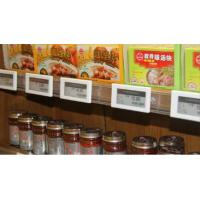 Wholesale COMER esl /electronic shelf label with prevent stealing design for supermarket and retail stores from china suppliers